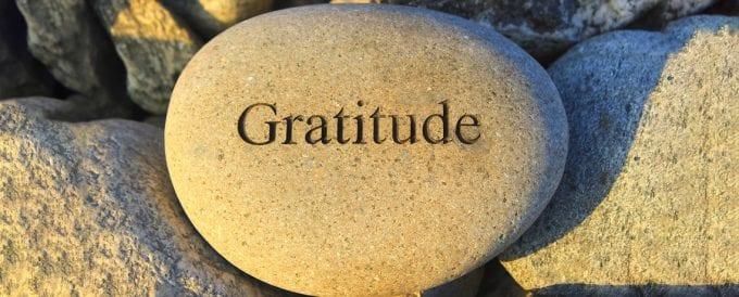 À propos de la gratitude